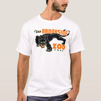 Black Panther Zoo 1937 WPA T-Shirt