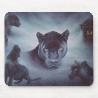 black panthers mouse pad