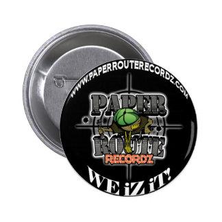 Black Paper Route Recordz - We iZ iT! Button! Button
