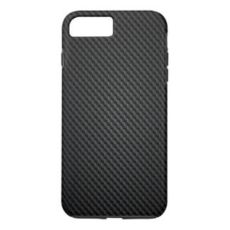 Black para-aramid synthetic Texture iPhone 7 Plus Case