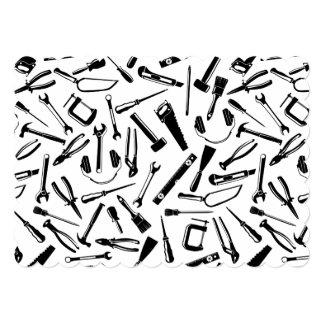 Black Pattern Tools Card
