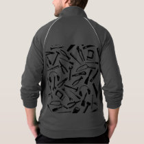 Black Pattern Tools Jacket