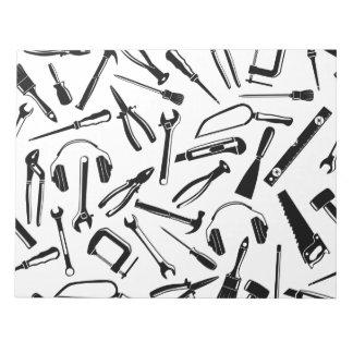 Black Pattern Tools Notepad