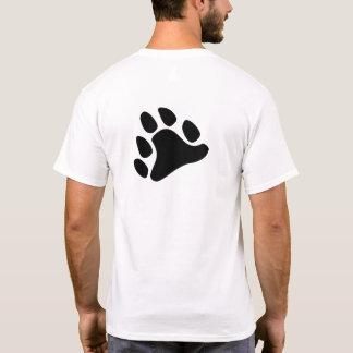 Black Paw (back design) T-Shirt