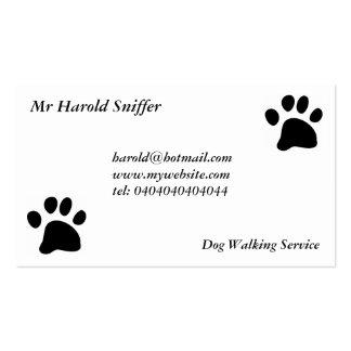 Black Paw Business Card