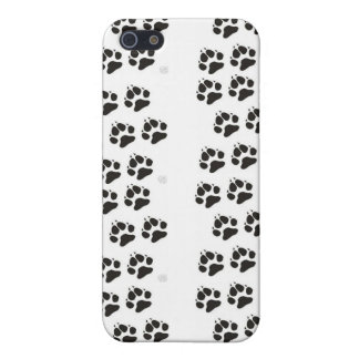 Black Paw Print Customizable IPhone Case Cases For iPhone 5