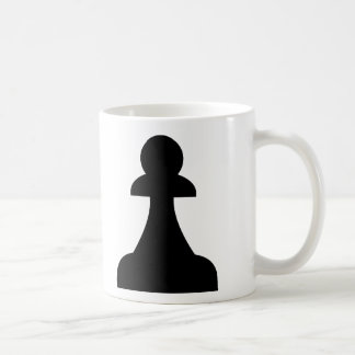 Black Pawn (1/8) Coffee Mug