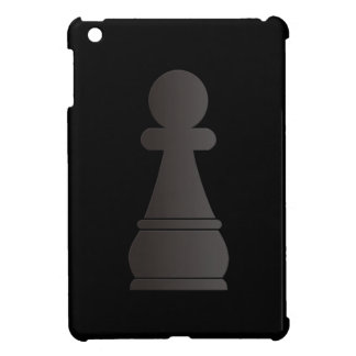 Black Pawn chess piece iPad Mini Covers