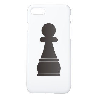 Black pawn chess piece iPhone 8/7 case