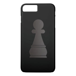 Black pawn chess piece iPhone 8 plus/7 plus case