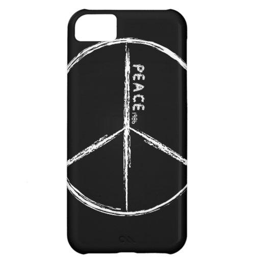 Black Peace iPhone 5 Case