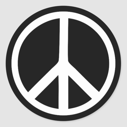 how to make a peace sign in text