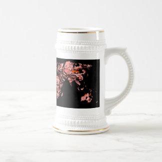 Black peach atlas mugs