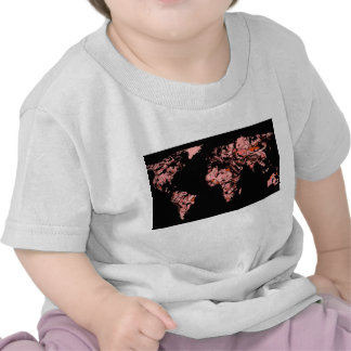 Black peach atlas t shirt