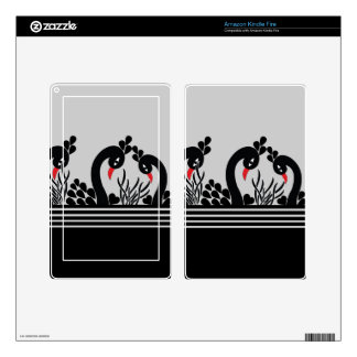 black peacock skin for kindle fire