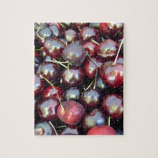 Black Pearl Cherries Jigsaw Puzzle