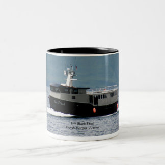 Black Pearl, Longlining Fishing Vessel Two-Tone Coffee Mug