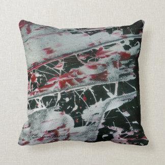 Black Pearl Pillows Throw Pillow