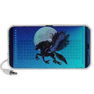 Black Pegasus and Blue Moon Speakers
