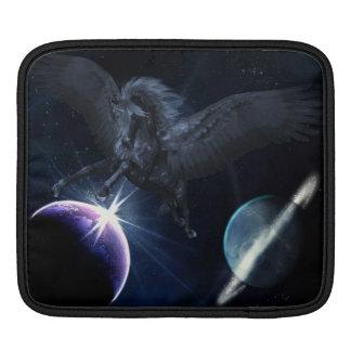 Black Pegasus iPad Sleeve