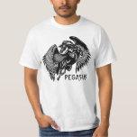 black pegasus tee shirts