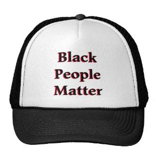 Black People Matter Mesh Hats