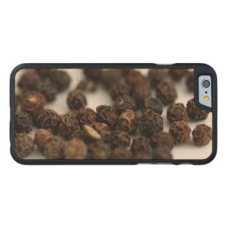 Black Pepper Carved Maple iPhone 6 Slim Case