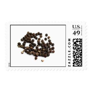 Black Pepper Corns Postage Stamp