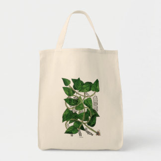 Black Pepper Plant, 1578 Grocery Tote Bag
