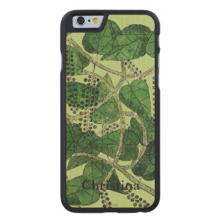 Black Pepper Plant, 1578 Carved® Maple iPhone 6 Case