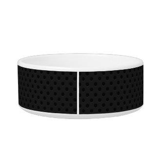 Black Perforated Pinhole Fiber Bowl