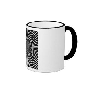 """Black Perplexity"" Ringer Mug"