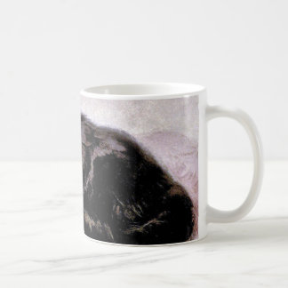 Black Persian Cat Coffee Mug