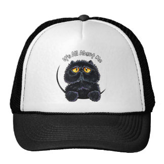 Black Persian Its All About Me Trucker Hat