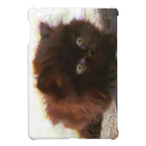 Black Persian Kitten ipad Mini Case