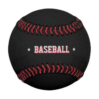 black personalized baseball