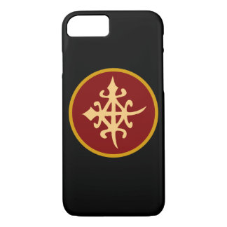 Black Personalized Phone Cases-symbol of unity. iPhone 7 Case