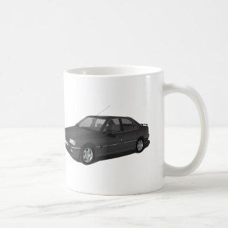 Black Peugeot 405 + badge mug