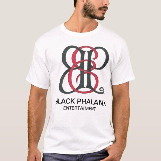 Black Phalanx Core logo Tee
