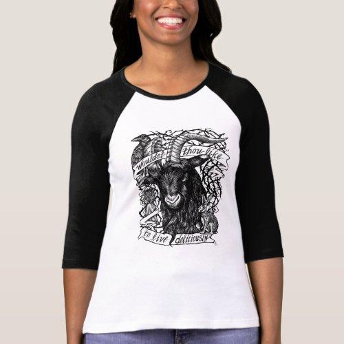 Black Phillip Live Deliciously T_Shirt