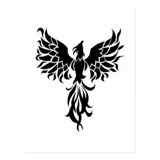 Black Phoenix Postcard