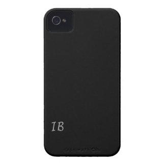 Black phone case iPhone 4 Case-Mate cases