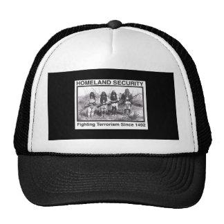 Black Photo Indian Homeland Security Trucker Hat