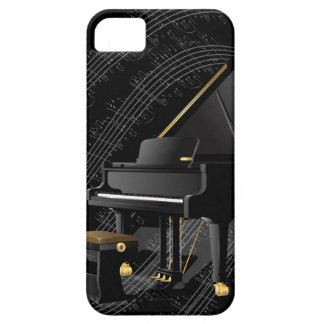 Black Piano iPhone Case