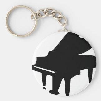 black piano keychain