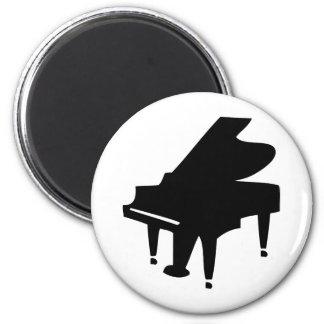 black piano magnet