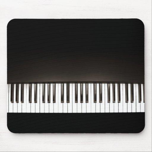 Black Piano mousepad Mousepad