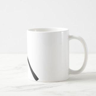 black pickax icon coffee mug