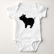 Black Pig Kids & Baby Shirt
