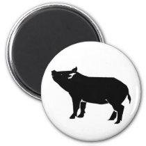 Black Pig Magnet